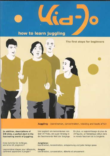 DVD KID-HOW TO LEARN JUGGLING
