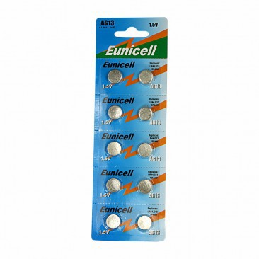 Batteries (10pcs.) For LED poi & balls