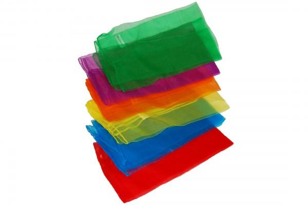 Set of 6 juggling-scarves