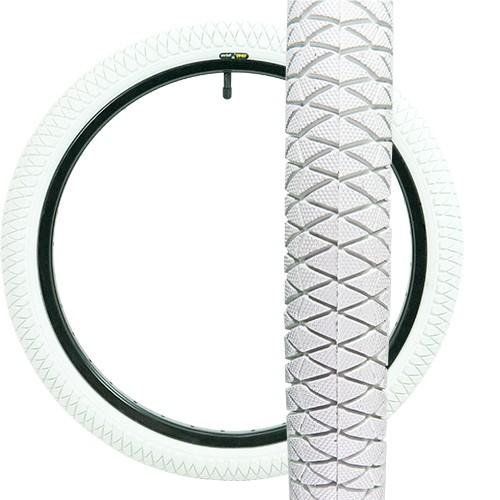 """QU-AX tyre 20"""" x 1.95 green"""