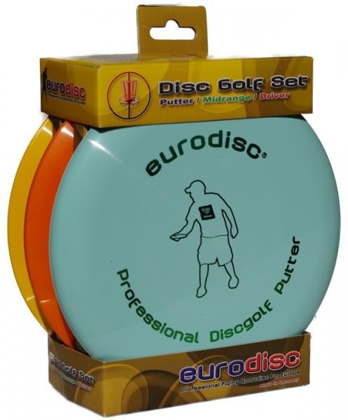 Eurodisc- Discgolf-Set HQ