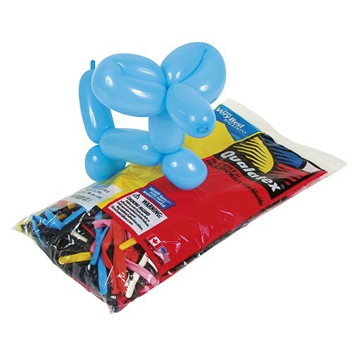 Qualatex Modelling-Balloons (100pcs. assorted)