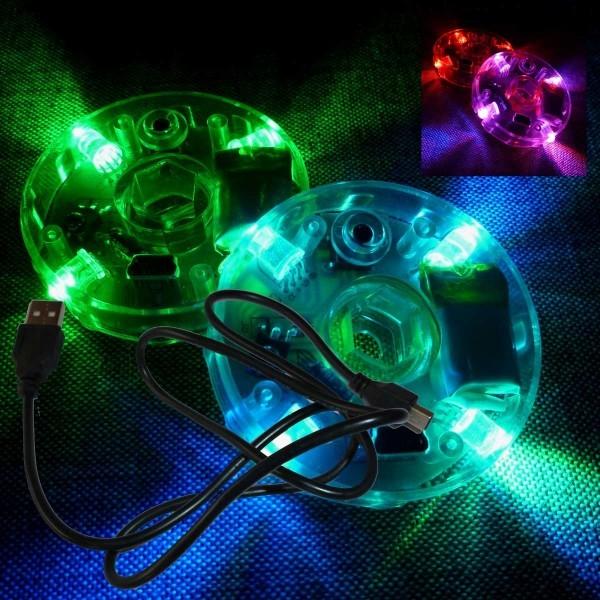 Diabolo LED Set (inkl. USB Ladekabel) Ohne Fernbedienung!