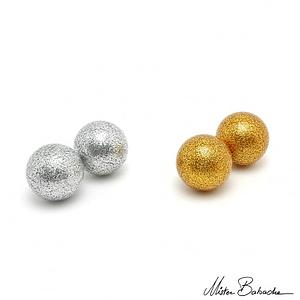 Bühnenball 72mm gold/ silber
