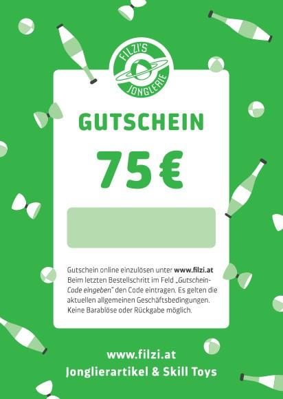Rabatt Gutschein 75 Euro