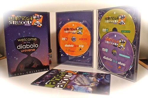 3 DVDs Collection PLANET DIABOLO